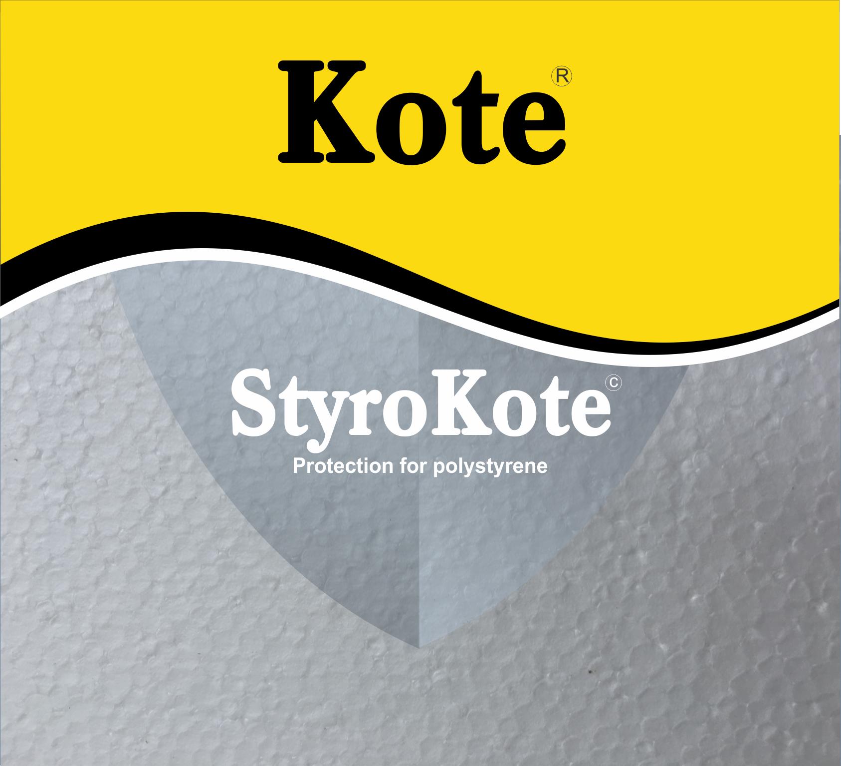 Polystyrene Clear Waterproofing Paint
